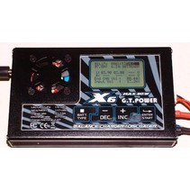 GT X6 DC BALANCE CHARGER <br /> 1-6S   LIPO <br /> 1-17S NIMH <br /> 2-20V LEAD ACID  <br /> 7 AMP MAX CHARGE <br /> 1.5 AMP DISCHARGE <br /> 5 X CYCLES<br /> WITH GRAPHIC CURVE