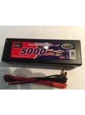 ENRICHPOWER ENRICHPOWER 50C 7.4V HARD CASE 5000MAH READ SAFTY WARNING BEFORE USE 46.2x24.8x138 LEADS COME OUT TOP