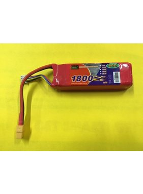 ENRICHPOWER ENRICHPOWER 60C 11.1V 1800MAH LIPO READ SAFTY WARNING BEFORE USE  106x33x21mm 140gr