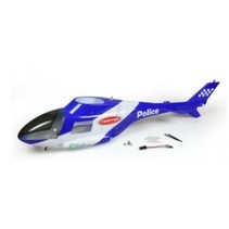 TWISTER POLICE HELICAM BODY WITH LIGHTS  ( BODY ONLY )