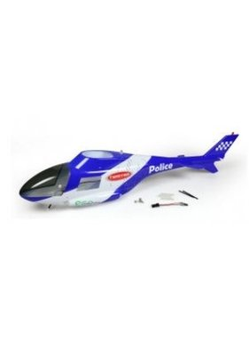 TWISTER TWISTER POLICE HELICAM BODY WITH LIGHTS  ( BODY ONLY )