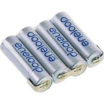ENELOOP 4.8V 1900MAH NIMH AA BATTERY PACK FLAT OR SQUARE WITH JR LEAD