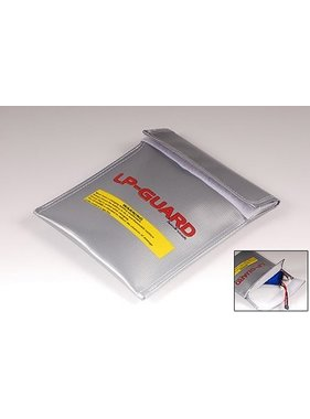 HY MODEL ACCESSORIES HY LIPO SAFE BAG LARGE SILVER 220 X 300mm<br />