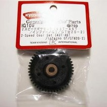 KYOSHO 2 SPEED GEAR SET 43T-46T INFERNO GT  IG109 GTW20-2