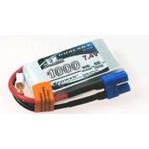 DUALSKY 1000MAH 7.4V 35C LIPO BATTERY EC3 CONNECTOR