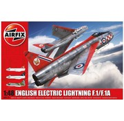 AIRFIX AIRFIX ENGLISH ELECTRIC LIGHTNING F.A/F.1A 1/48 A09179