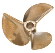 AQUACRAFT AQUACRAFT GRIMRACER L40 X 57 3 BLADE HIGH PERFORMANCE METAL BOAT PROPELLER