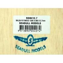 SEAGULL BALSA PLYWOOD 2.7mmX300x1200mm