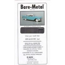 BARE METAL CHROME FOIL