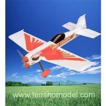HY EPP FOAM RED HAWK MODEL RTF INCL MOTOR SPEED & SERVOS PLUS 2.4GHZ RADIO LIPO & CHARGER