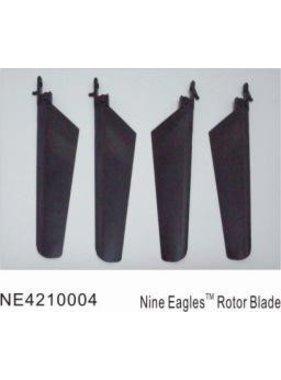 NINE EAGLE MICRO HELI ROTOR BLADES BLACK SET  NE4210004
