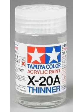 TAMIYA TAMIYA X-20A THINNER 46ML BOTTLE