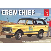 AMT CREW CHIEF CHEVY BLAZER OUTFITTED AS ENGINEER'S WAGON 1/25