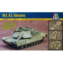 ITALARI 1/35 TANK M1A1 ABRAMS AND RESIN PARTS INC AUSTRALIAN INSIGNIA'S