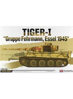 ACADEMEY ACADEMY 1/35 TIGER-I GRUPPE FEHRMANN, ESSEL 1945 SE