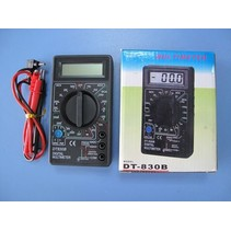 HY ELECTRONIC LCD MULTIMETER L 126 X 70 X 25mm<br />