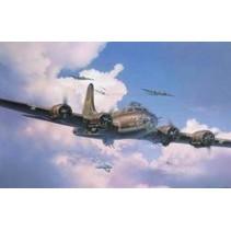 REVELL B-17F MEMPHIS BELLE BOEING 1/48 SCALE 04297