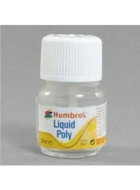 HUMBROL HUMBROL LIQUID POLY GLUE 28ML