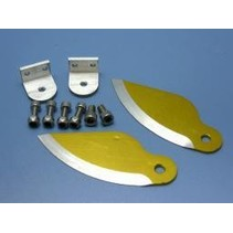 HY ALUMINIUM WATER KNIFE BOAT STABILIZERS 90 CLASS - 26CC <br />( OLD CODE HY380601 )