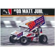 """DTR  Matt Juhl #09 """"State Bank of Fairmont"""" Sprint Car (1/24)"""