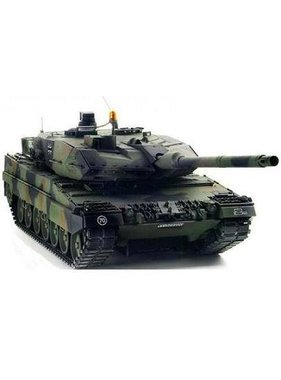 TAMIYA TAMIYA LEOPARD 2A6 R/C TANK KIT WITH FULL OPTION KIT
