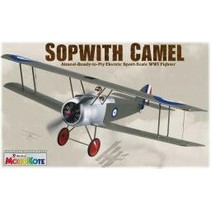 GREAT PLANES ELECTRIC SOPWITH CAMEL PLANE ARF SPORT-SCALE WW1 FIGHTER