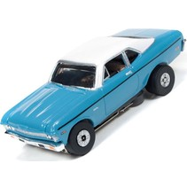 AUTOWORLD 1970 CHEVY NOVA BEVERLY HILLS COP THUNDERJET ULTRA G CAR