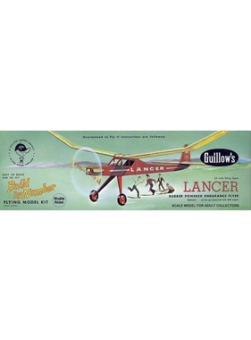 GUILLOWS GUILLOWS LANCER CIVIL BALSA KIT
