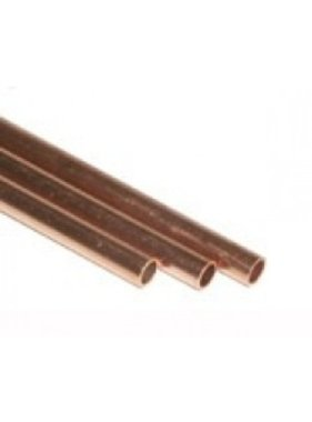 K&S K & S 3PCS COPPER TUBE 12in 1/16