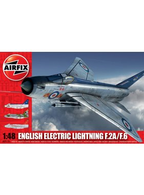 AIRFIX AIRFIX 1/48 ENGLISH ELECTRIC LIGHTNING F2A-F6