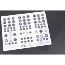 J'Tec Instrument Kit Color 1/4 Scale