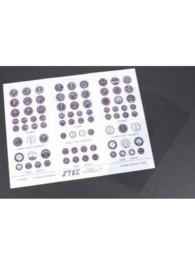 J TEC J'Tec Instrument Kit Color 1/4 Scale