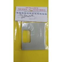 AUSLOWE KENWORTH W900 DAY CAB PANEL 1/25