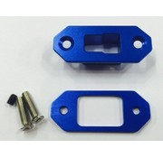 HY MODEL ACCESSORIES HY T PLUG ARMING SOCKET  ALLOY WITH OUT CONNECTORS  ( AVAIL RED OR BLUE )  REQUIRES 1 PAIR OF T PLUGS