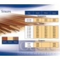 SAPELLY WOOD STRIP 2 X 4MM