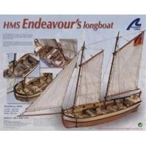 ARTESANIA HMS ENDEAVOURS LONGBOAT