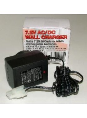 AWESOME R/C MODEL ENGINES 7.2V AC/DC WALL CHARGER