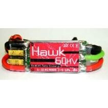 SJ GRAUPNER HAWK BRUSHLESS SPEED CONTROLLER 60A 2-6 LIPO