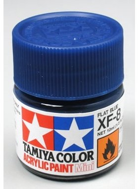 TAMIYA TAMIYA 10ml XF-8 FLAT BLUE
