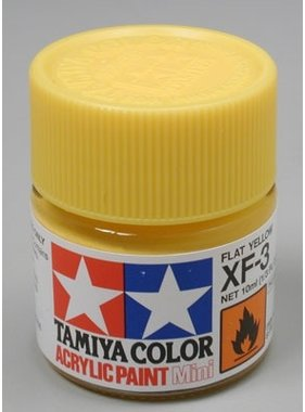 TAMIYA TAMIYA 10ml XF-3 FLAT YELLOW