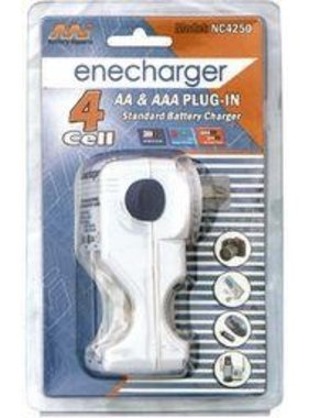 PANASONIC ENECHARGER 4 CELL AA & AAA PLUG IN STANDARD BATTERY CHARGER