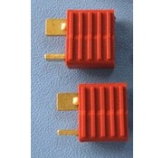 HY MODEL ACCESSORIES HY T PLUG WITH FULL GRIP U/GOLD PLUG FEMALE ( 8pk  )<br />