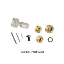 HITEC HS-85/5085MG REPLACEMENT METAL GEAR SET 56388