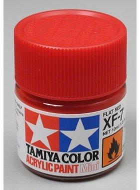 TAMIYA TAMIYA 10ml XF-7 FLAT RED