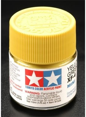 TAMIYA TAMIYA 10ml XF-4 YELLOW/GREEN