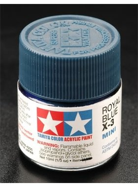 TAMIYA TAMIYA 10ml X-3 ROYAL BLUE