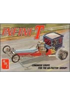 AMT AMT INFINI-T LONGNOSE COUPE FOR THE GO-FASTER GROUP  1/25 SCALE 38631