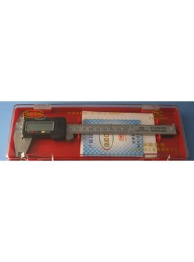 HY MODEL ACCESSORIES HY DIGITAL CALIPERS 0-150mm/ /  NOW WITH LARGE DISPLAY <br />( OLD CODE HY130802 )