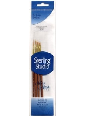 STERLING STUDIO SS-111 STERLING STUDIO 4 PIECES SYNTHETIC BRUSHES DETAIL 2