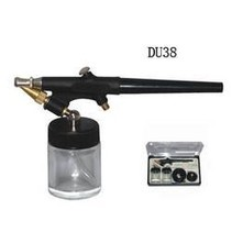 SUCTION FEED AIRBRUSH GUN, SINGLE ACTION WITH 2 X 20CC BOTTLES